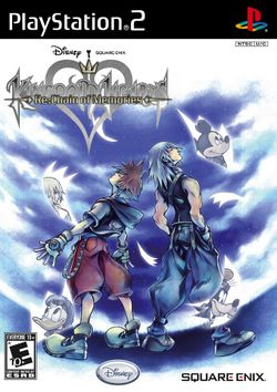 Box artwork for Kingdom Hearts Re:Chain of Memories.