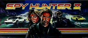 Spy Hunter II marquee