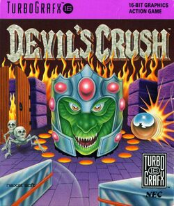 Box artwork for Devil's Crush.