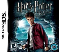 Box artwork for Harry Potter and the Half-Blood Prince.
