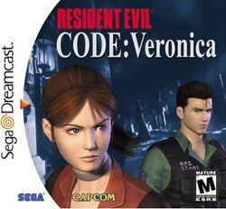 Box artwork for Resident Evil: Code: Veronica.