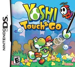 Box artwork for Yoshi Touch & Go.