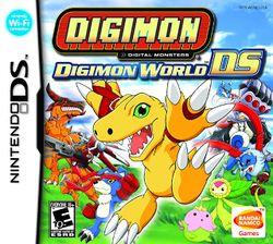 Box artwork for Digimon World DS.