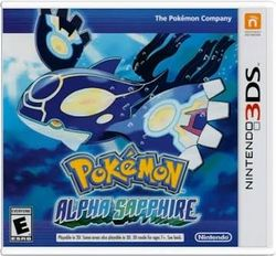 Box artwork for Pokémon Omega Ruby and Alpha Sapphire.