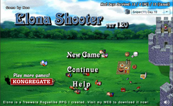 Box artwork for Elona Shooter.