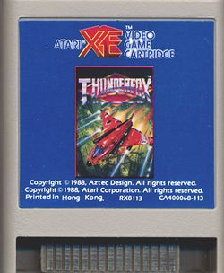 Box artwork for Thunderfox.