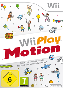 Box artwork for Wii Play: Motion.