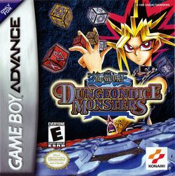 Box artwork for Yu-Gi-Oh! Dungeon Dice Monsters.