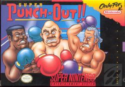Box artwork for Super Punch-Out!! (SNES).