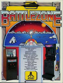 Box artwork for Battlezone.