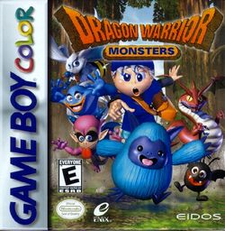Box artwork for Dragon Warrior Monsters.