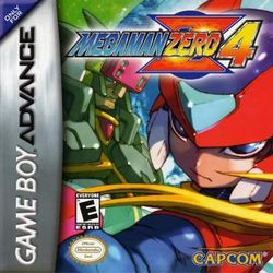 Box artwork for Mega Man Zero 4.