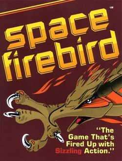 Box artwork for Space Firebird.