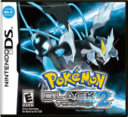 Box artwork for Pokémon Black and White 2.