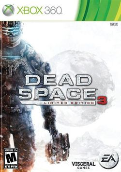 Box artwork for Dead Space 3.