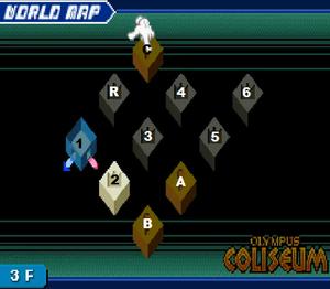 Kingdom Hearts: Chain of Memories/Sora/Olympus Coliseum ...