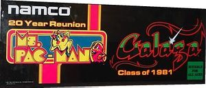 Ms. Pac-Man and Galaga: Class of 1981 marquee