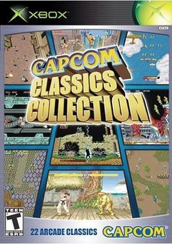 Box artwork for Capcom Classics Collection.