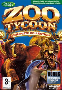 Box artwork for Zoo Tycoon.