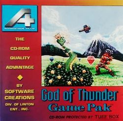 Box artwork for God of Thunder.