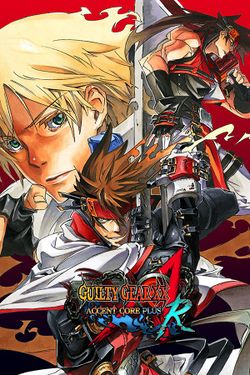 Box artwork for Guilty Gear XX Λ Core Plus R.