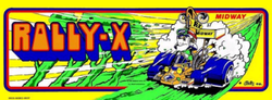 The logo for Rally-X.