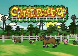 Box artwork for Critter Round-Up.