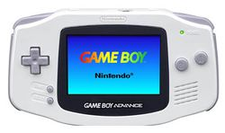 The console image for Game Boy Advance.