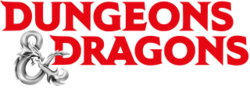 The logo for Dungeons & Dragons.