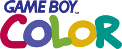 The logo for Game Boy Color.