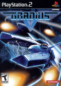 Box artwork for Gradius V.