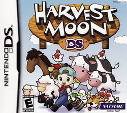 Box artwork for Harvest Moon DS.