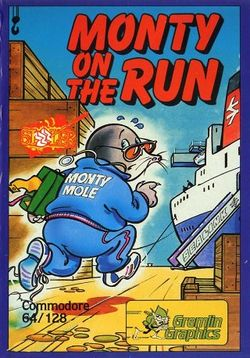 Box artwork for Monty on the Run.