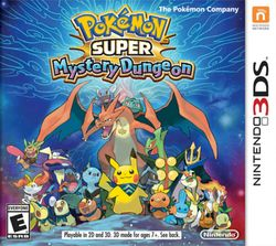 Box artwork for Pokémon Super Mystery Dungeon.