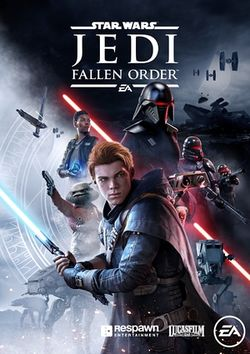 Box artwork for Star Wars Jedi: Fallen Order.