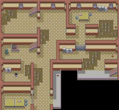 power plant layout fire red pok  mon firered and leafgreen cinnabar island     strategywiki  the  pok  mon firered and leafgreen cinnabar