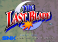 The Last Blade title.png