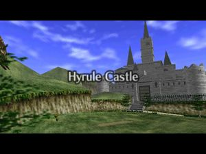 The Legend Of Zelda Ocarina Of Time Hyrule Castle Strategywiki The Video Game Walkthrough And Strategy Guide Wiki