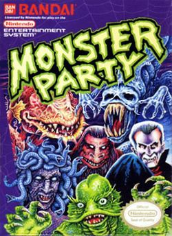 Box artwork for Monster Party.
