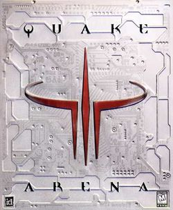 Box artwork for Quake III Arena.