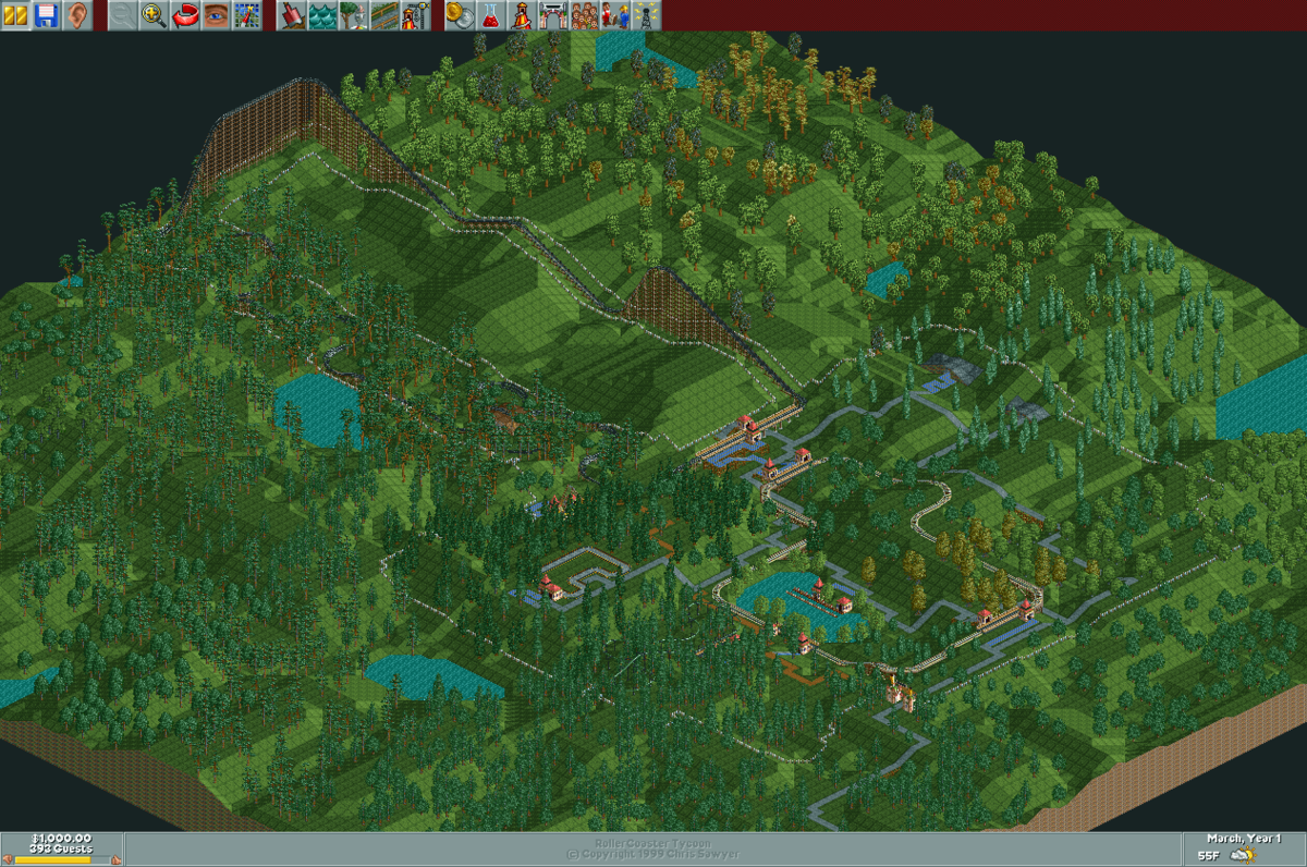 RollerCoaster Tycoon/Katie's World — StrategyWiki, the video game