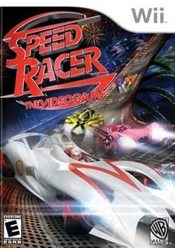 Box artwork for Speed Racer: The Videogame.