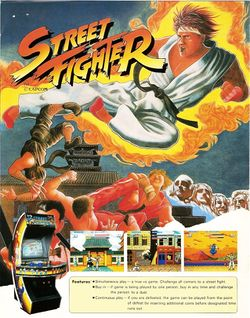 Box artwork for Street Fighter.