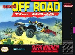 Box artwork for Super Off Road: The Baja.