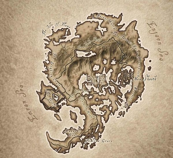 The Elder Scrolls Iv Shivering Isles World Map Strategywiki The