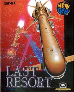 Box artwork for Last Resort.