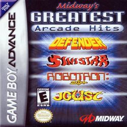 Box artwork for Midway's Greatest Arcade Hits.
