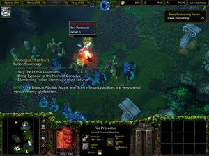Warcraft III: Reign of Chaos/The Awakening of Stormrage