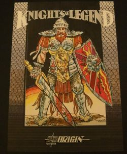 Box artwork for Knights of Legend.