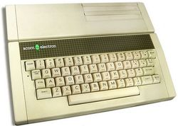 The console image for Acorn Electron.